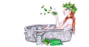 Badekräuter für Wellness und Wohlbefinden