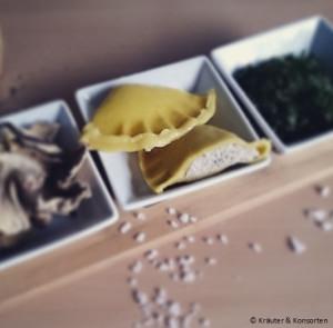 Steinpilz-Bärlauch-Ravioli von Köstlich & Konsorten