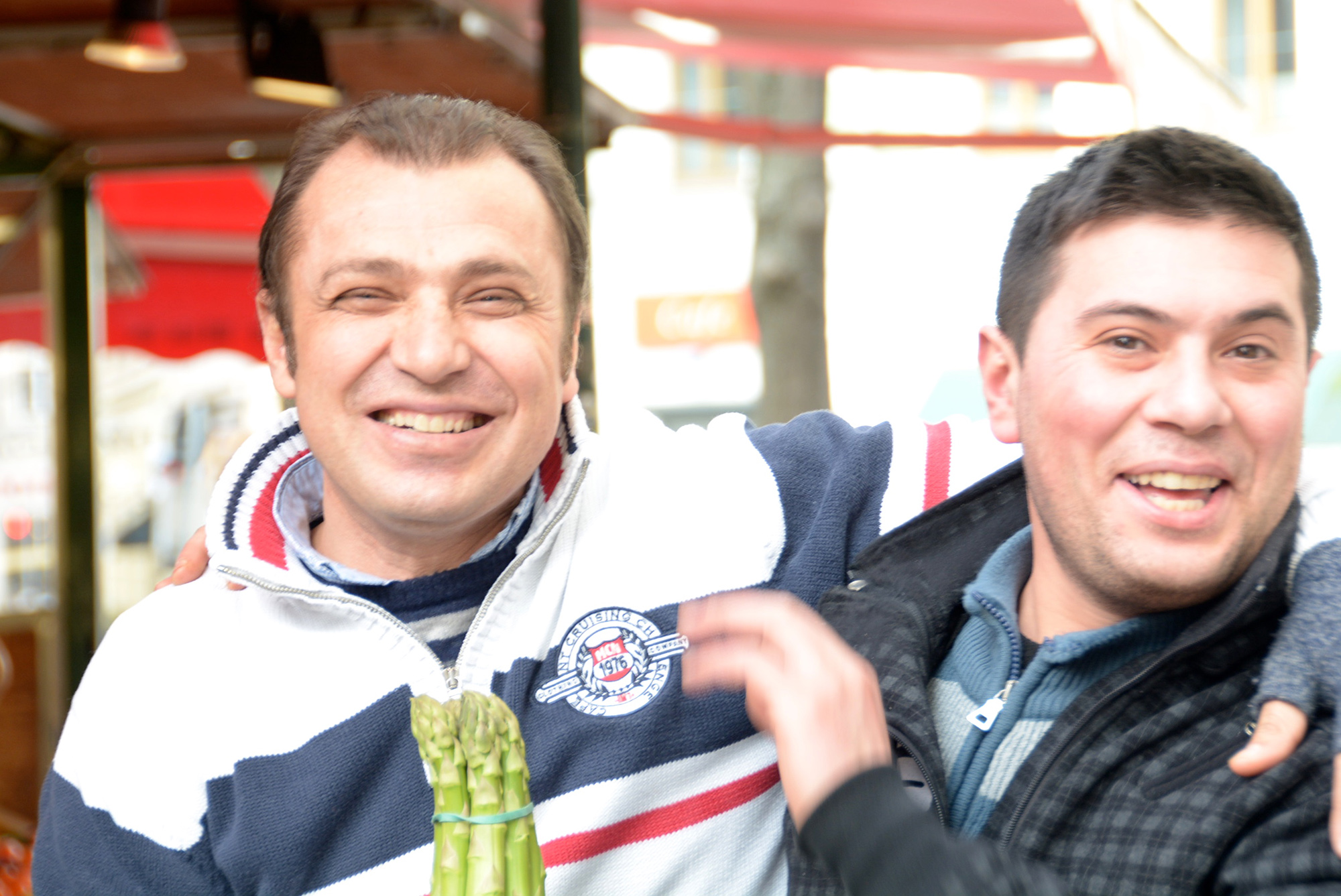Ali und Ibo vom Kutschkermarkt
