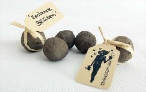 Seedballs mit essbaren Blüten von Miss Greenball vereinfachen die Blütenanbau für die Küche.