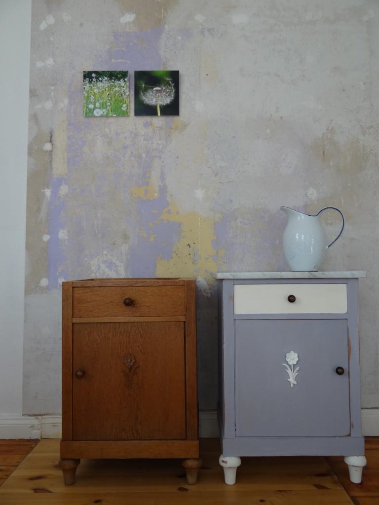 Rapuze Möbel - Vorher und nachher