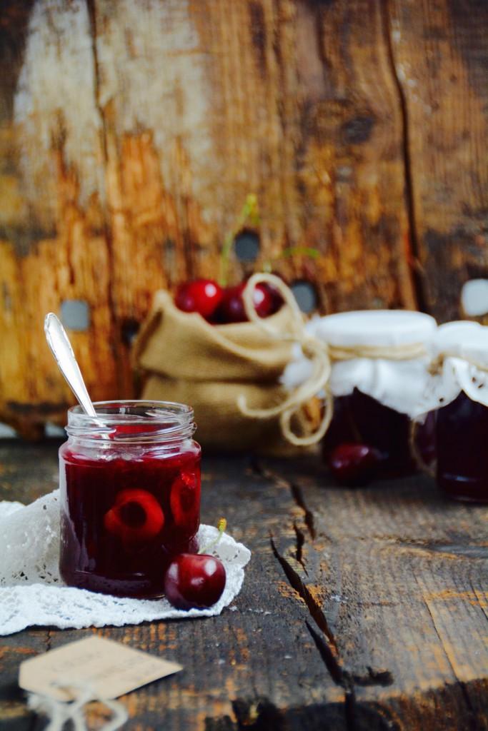 Kirschmarmelade-mit-Vanille1