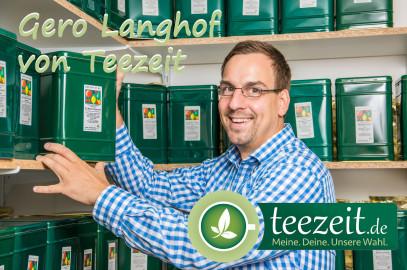 Im Portrait: Gero Langhof von Teezeit
